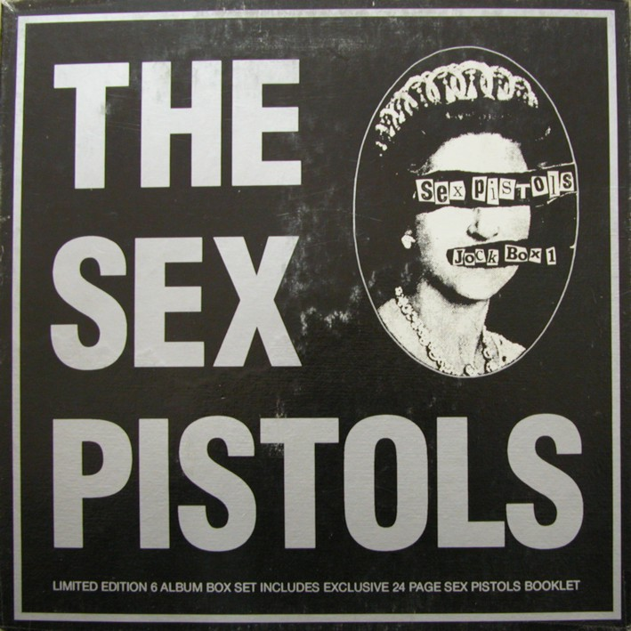 Sex pistols never mind the bootlegs cassette tape promo enigma canada enpro