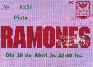 1991-04-30 Live Dama XOC (Sao Paulo, Brazil)