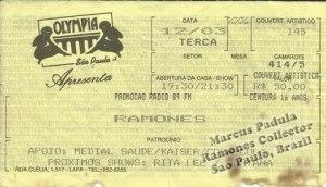 1996-03-12 Live Olympia (Sao Paulo, Brazil)