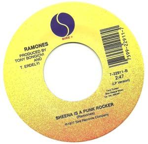 ramones-Pet Sematary-Sheena is a Punk Rocker label B