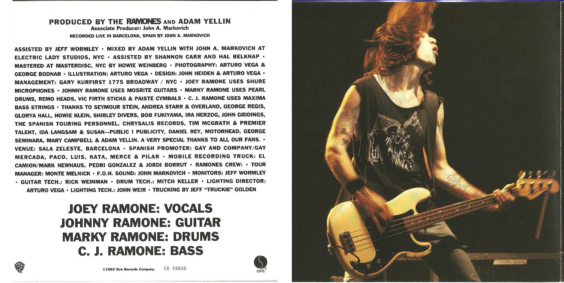704a7d6a442fa LP CD – Ramones  Loco Live 1991   Sequela Coletiva