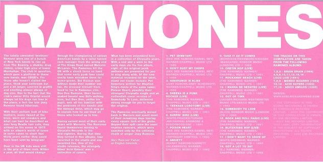 Ramones - Best Of The Chrysalis Years 5