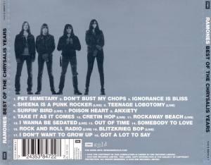 Ramones - Best Of The Chrysalis Years - back