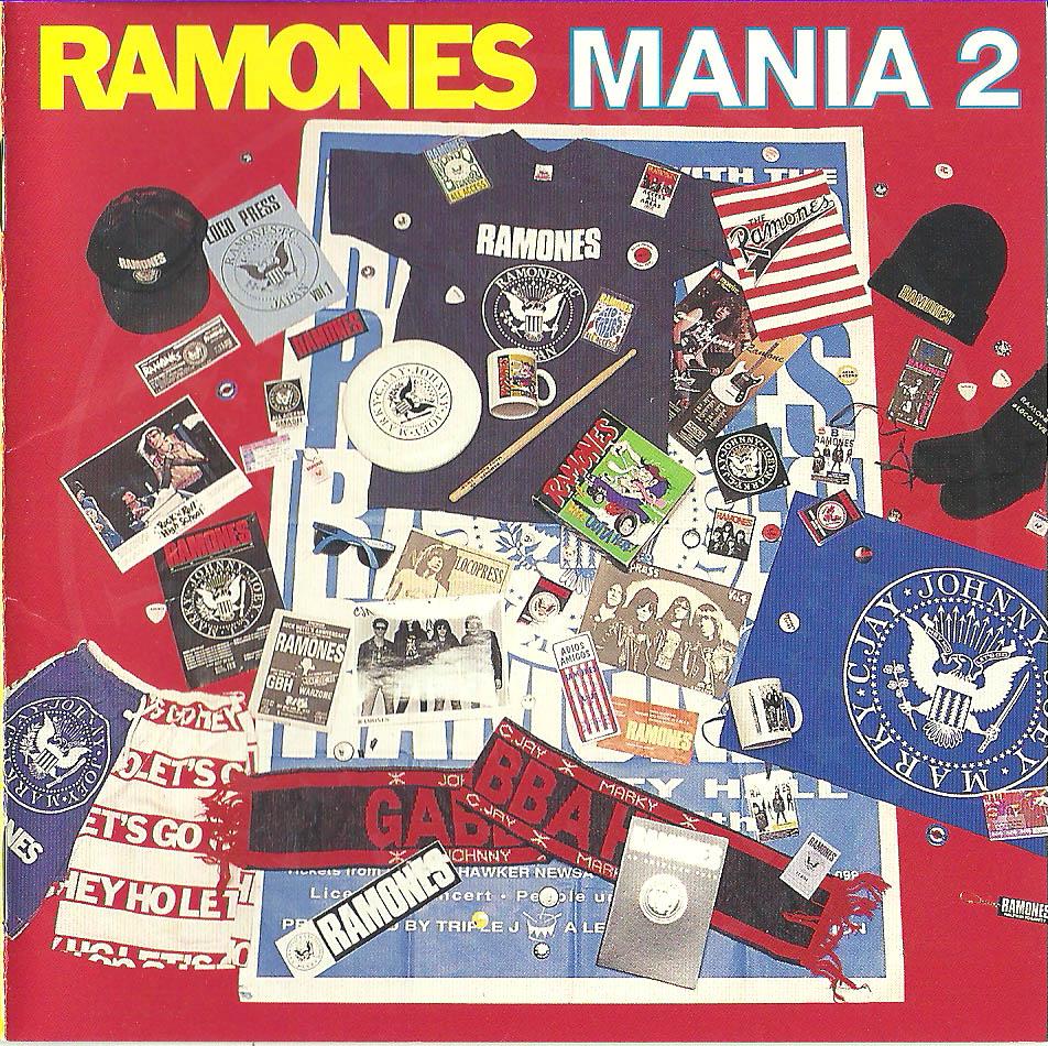 Cd Ramones Ramones Mania 2 2000 Sequela Coletiva