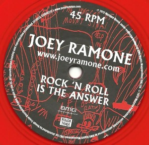 Joey Ramone - 2012 - Rock 'n Roll is The Answer label aa