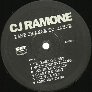 CJ Ramone - Last Chance to Dance 12
