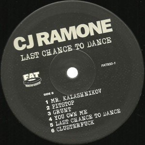 CJ Ramone - Last Chance to Dance 13