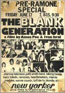 Blank Generation, the (The Blank Generation)