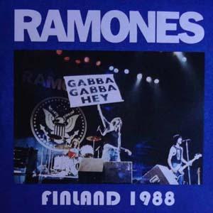 Ramones - 1988-06-04 Live Provinssi Rock Festival (Seinäjoki, Finland) - Finland 88 [10-50 copies] [EP 7] [Live Bootleg]