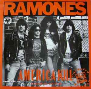 Ramones America Kill front