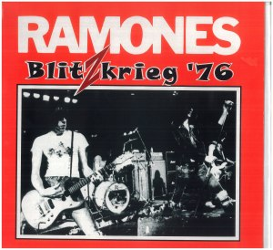 ramones - blitzkrieg 76 red