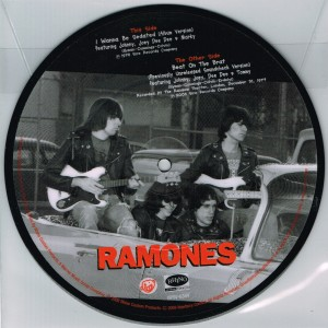 ramones - i wanna be sedated picture