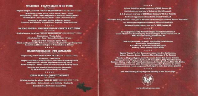 ramones - the song ramones the same 5