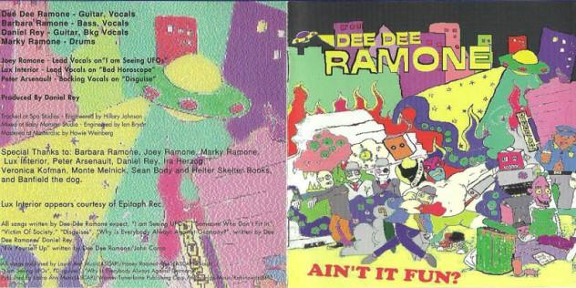 dee dee ramone - AIN'T IT FUN (1)