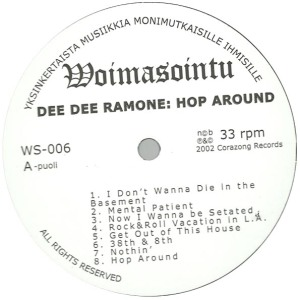hop around lp label a