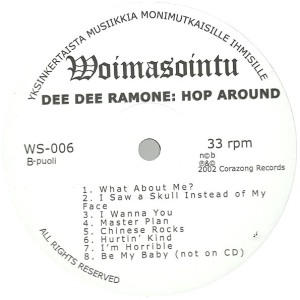 hop around lp label b