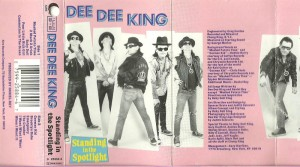 ramone dee dee - standing in the spotlight K7 1