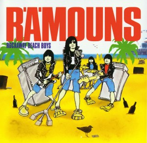 The Rämouns - Rockaway Beachboys front