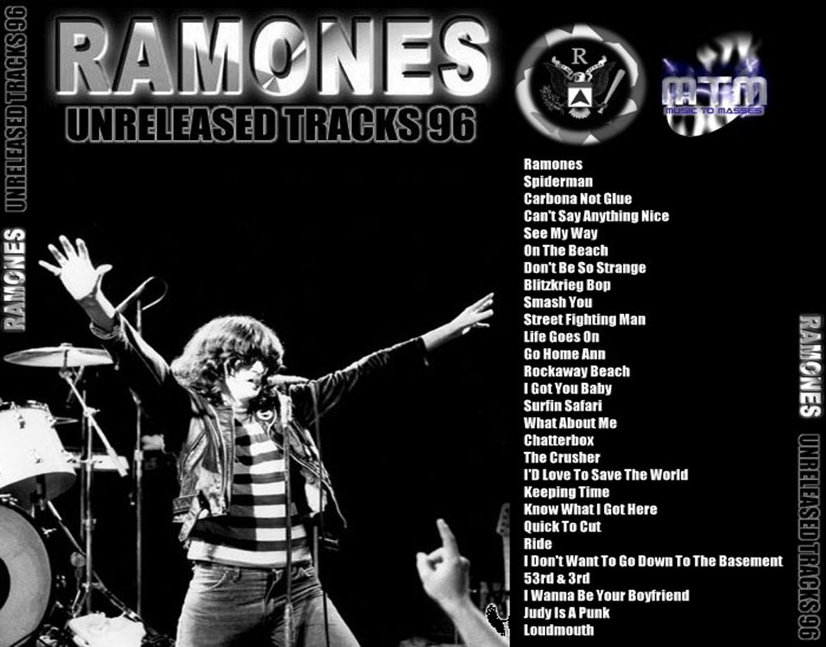 CD – Ramones: Unreleased Tracks 1996