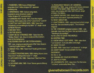 ramones - unreleased tracks 4copy