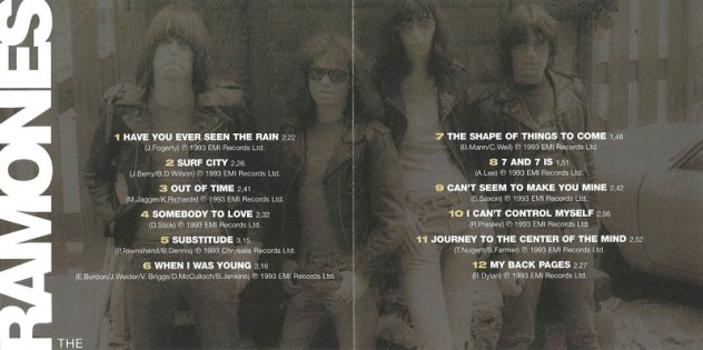 the ramones - acid eaters alt 2
