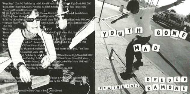 Dee Dee Ramone - 2003 - Youth Gone Mad 1