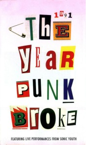 Sonic Youth - In 1991 - The Year Punk Broke - Cover (4)