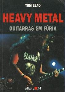 livro-heavy metal guitarras em fúria