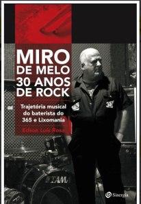 livro - miro de melo 30 anos de rock