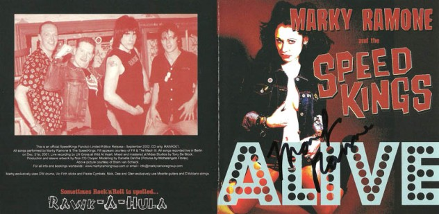 Marky Ramone and The Speed Kings - 2001 - Speed Kings Alive (6)
