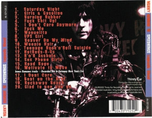 Marky Ramone and The Speed Kings - 2002 - Legends Bleed (1)