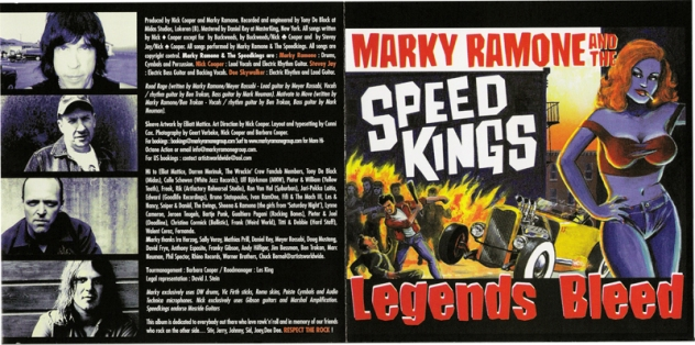 Marky Ramone and The Speed Kings - 2002 - Legends Bleed (3)