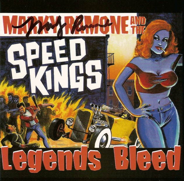 Marky Ramone and The Speed Kings - 2002 - Legends Bleed