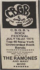 cbgb 75 summer festival