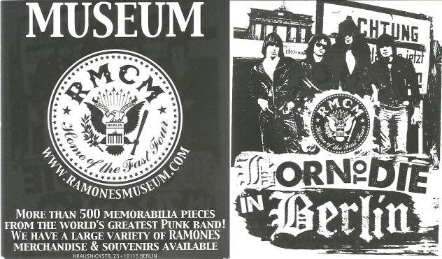 ramones museum postcard 5