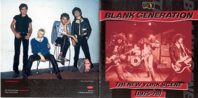 Various - Blank Generation [The New York Scene 1975-78] - Booklet