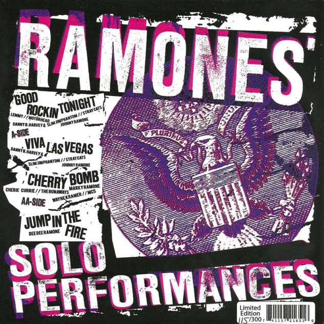 VV.AA. - Ramones' solo performances EP (6)