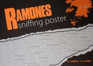 2013-10-08 Ramones Sniffing Poster
