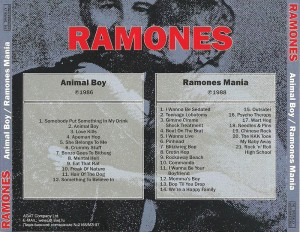 Animal Boy - Ramones Mania 4