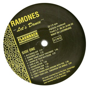 ramones-letsdance labela