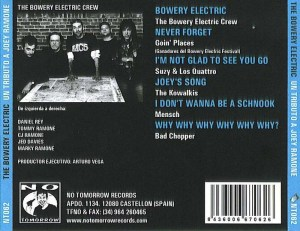 VA - 2004 - The Bowery Electric A Tribute To Joey Ramone (4)