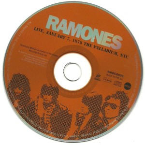 ramones-live, january 7, 1978 the palladium, nyc 4