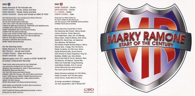 Marky Ramone - 2006 - Start of the Century (4)