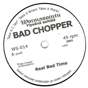 CJ Ramone (Bad Chopper) - 2003 - Real Bad Time label aa