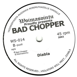 CJ Ramone (Bad Chopper) - 2003 - Real Bad Time label bb