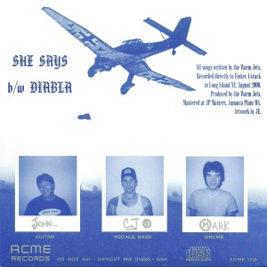 CJ Ramones (The Warm Jets) - 2000 - She Says-Diabla B