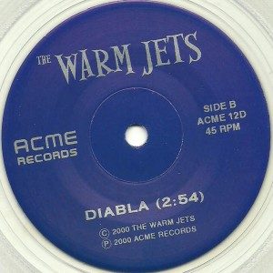 CJ Ramones (The Warm Jets) - 2000 - She Says-Diabla label B2