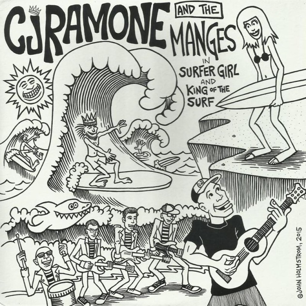 CJ Ramone feat The Manges 0
