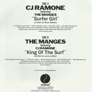 CJ Ramone feat The Manges 1